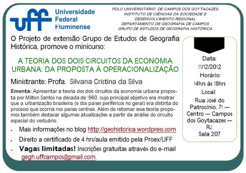 Minicurso Silvana