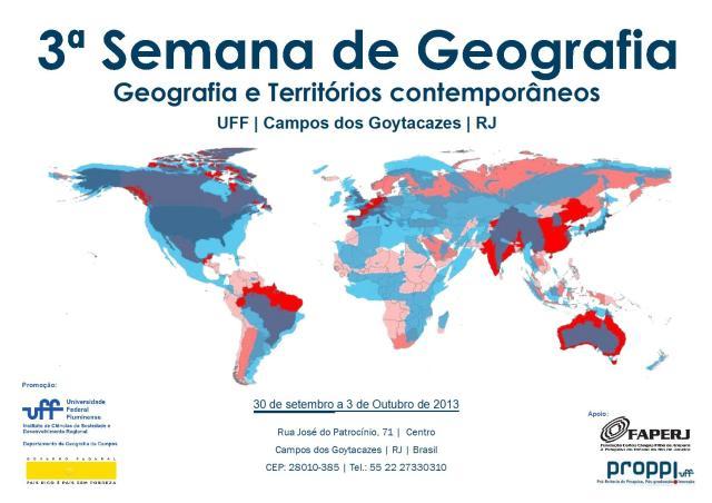 Cartaz Semana Geografia1
