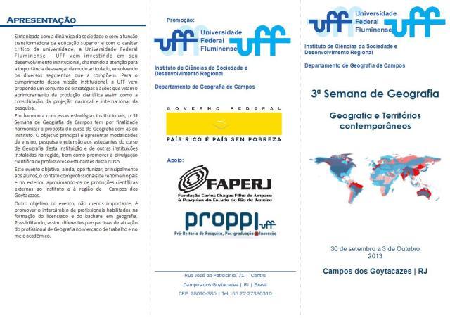 Folder Semana Geografia1