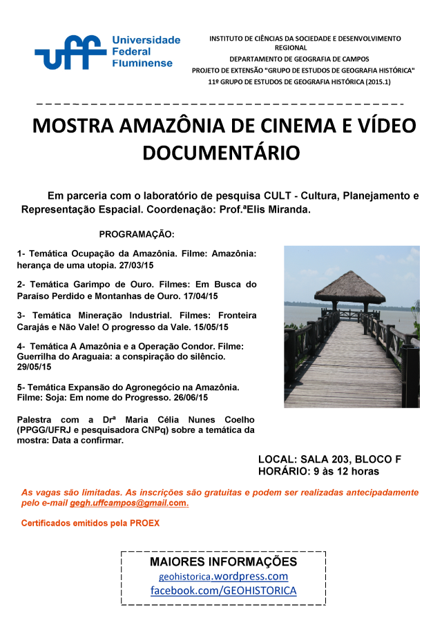 cartaz mostra amazonia