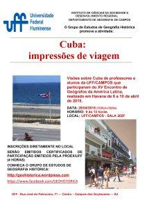 Cartaz Cuba
