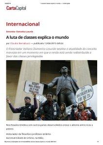 A luta de classes explica o mundo — CartaCapital